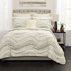 Pixel Wave 6-pc. Full/Queen Comforter Set