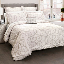 Elegant Scroll 6-pc. King Comforter Set