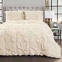 Ivory Baylee 3-pc. Full/Queen Comforter Set