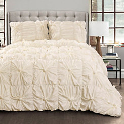 Ivory Baylee 3-pc. King Comforter Set