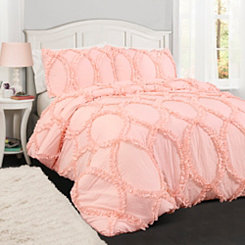 Light Pink Abba 2-pc. Twin Comforter Set