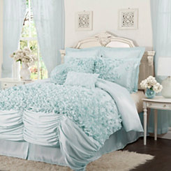 Blue Lacee 4-pc. California King Comforter Set