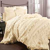 Ivory Bevan 4-pc. Queen Comforter Set