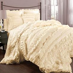 Ivory Bevan 4-pc. Queen Comforter Set
