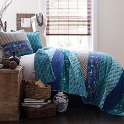 Royal Majesty Peacock King 3 Piece Quilt Set