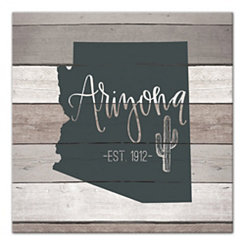 Arizona Shiplap Canvas Art Print