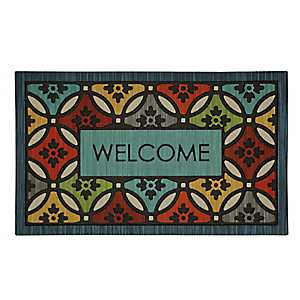 Clementine Shades Welcome Doormat