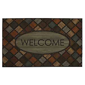 Marquetry Welcome Doormat
