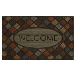 Marquetry Welcome Doormat