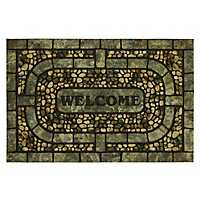 Garden Pebble Welcome Doormat