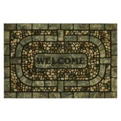 Garden Pebble Welcome Doormat