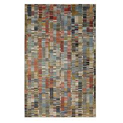Multicolor Inga Area Rug, 5x8