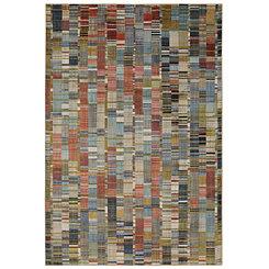 Multicolor Inga Area Rug, 8x11