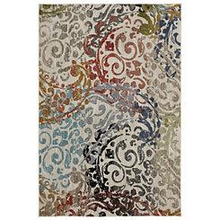 Multicolor Renee Woven Area Rug, 5x8