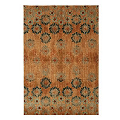 Saffron Bloom Area Rug, 5x8