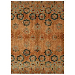 Saffron Bloom Area Rug, 8x11