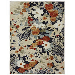 Floral Bunch Area Rug, 8x10