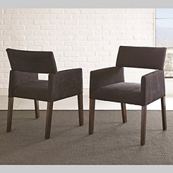 Brayden Black Accent Chairs, Set of 2