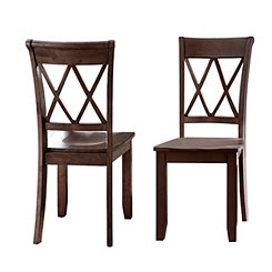 Caden Criss-Cross Dining Chairs, Set of 2