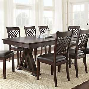 Colton Espresso Cherry Dining Table