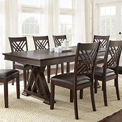 Colton Espresso Cherry Dining Table