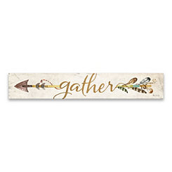 Gather Arrow Canvas Art Print