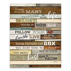 Your Life Canvas Art Print