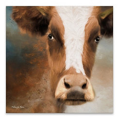 The Bull Canvas Art Print