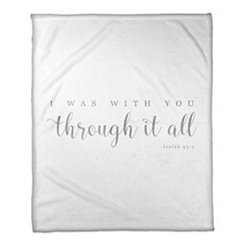 Through it All Fleece Throw Blanket
