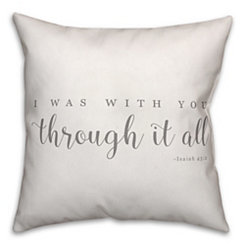 Through It All Pillow