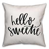 Hello Sweetie Pillow