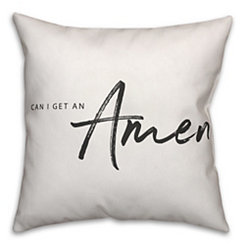 Can I Get An Amen Pillow