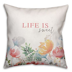 Life is Sweet Pillow