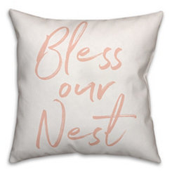 Bless Our Nest Pillow