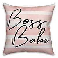 Boss Babe Pillow