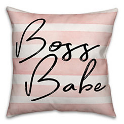 Boss Babe Pillow