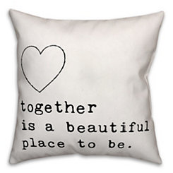 Together is Beautiful Pillow