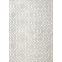 Gray Bridget Trellis Area Rug, 8x10