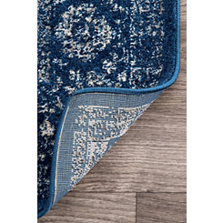 Dark Blue Verona Area Rug, 5x7
