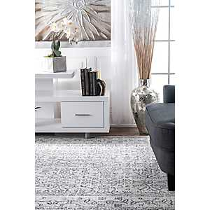 Gray Waddell Area Rug, 8x10