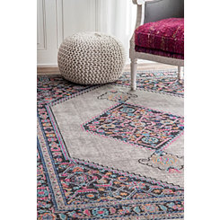 Gray Dortha Area Rug, 8x10