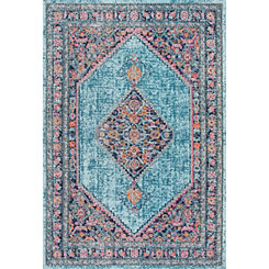 Blue Dortha Area Rug, 5x7