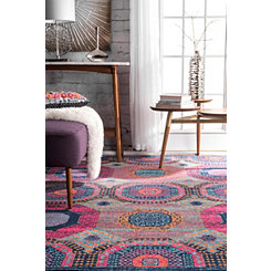 Marva Medallion Area Rug, 8x10