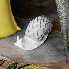 Terracotta Snail Statue