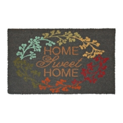 Colorful Home Sweet Home Doormat