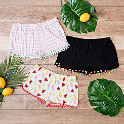 Summer Fun Pom Pom Shorts