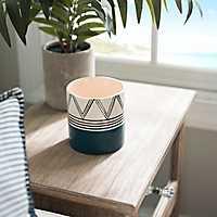 Sugar Cane & Coconut Art Deco Jar Candle