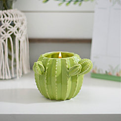 Cactus Prickly Pear Jar Candle