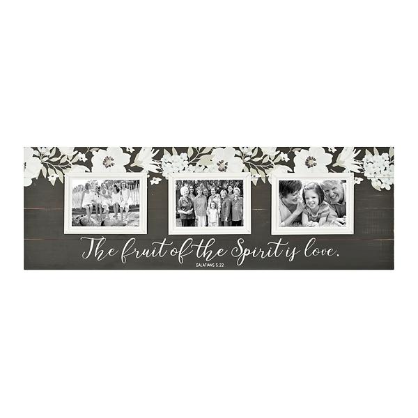 Fruit Of The Spirit Wood Pallet Collage Frame