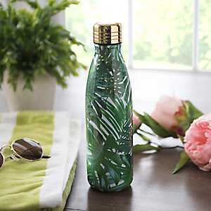 Palm Leaves Insulated Bottle